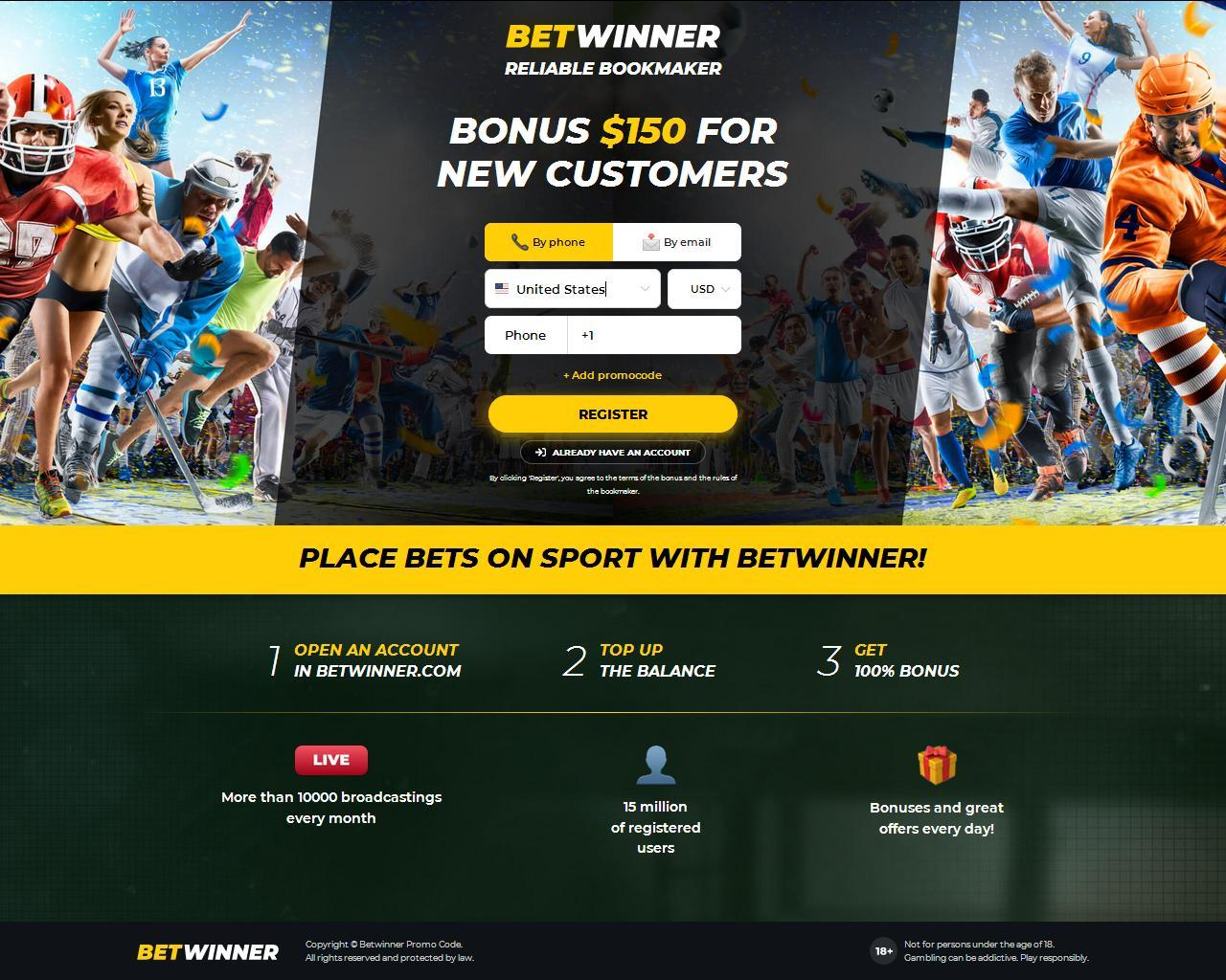 Go to Betwinner Sports
